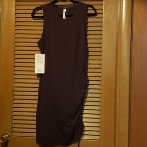 lululemon athletica Dresses - NWT Lululemon Black Cherry Cinch It Dress- Size 10